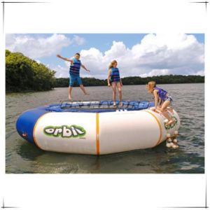 Cheap Price Inflatable Water Trampoline Aqua Bouncing Orbit