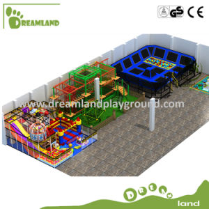 Dreamland Popular Customized Indoor Trampoline Park with Playground pictures & photos