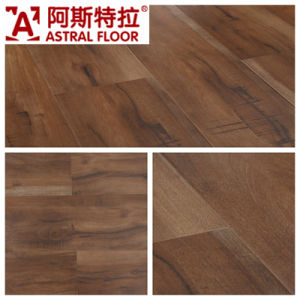 12mm Silk Surface (U Groove) Laminate Flooring (AS0008-12) pictures & photos