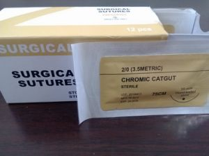 Absorbable Surgical Sutures Plain Catgut Thread USP5/0 pictures & photos