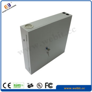 Indoor Wall Mount Type Fiber Patch Panel, 24/48 Cores LC/Sc/St/FC Connectors for Options pictures & photos