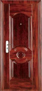 China Low Prices Exterior Steel Door (WX-S-289) pictures & photos