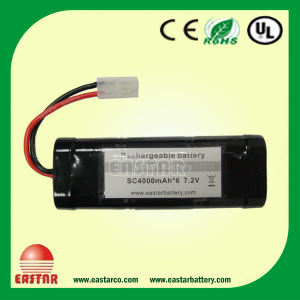 RC Toy Battery, 7.2. V Ni-MH Battery in Rechargeable 40, 00mAh AA Batteries pictures & photos