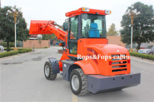 Telescopic Boom Shovel Loader with Euroiii Engine Rops&Fops pictures & photos