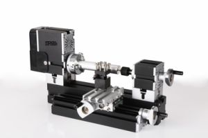 Big Power Eletroplated Mini Metal Lathe (Module B) (TZ20002MGP)