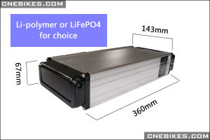 48V 10ah Lithium Rack Type Battery with Charger with Single-Deck Rack Frame pictures & photos