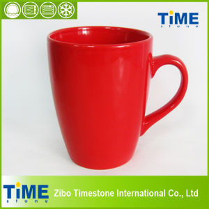 Rose Color Stoneware Coffee Mugs (TM612049) pictures & photos