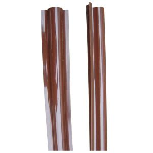 Riser Guard in Brown PVC for Cable Installation pictures & photos