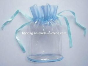 Clear PVC Bag with Lace