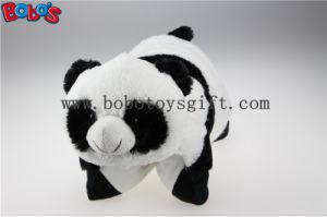 Plush Stuffed Pillow Cute Panda Shape Cartoon Travel Pillow Cushion pictures & photos