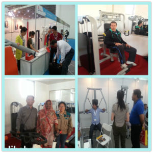 Sports Fitness Equipment Shoulder Press Machine (XH01) pictures & photos