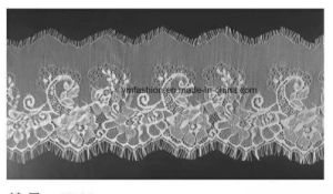 Hot Sell Fashion Nylon Eyelash Lace Trimming for Garment Dress 005 pictures & photos