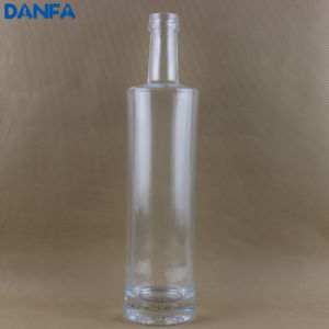 70cl / 700ml Ultra Premium Glass Vodka Bottle (Screw Top & Flat Shoulder)