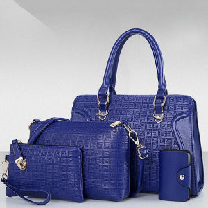 Top Selling PU Bag Set with 4bags for Elegant Women High Quality Ladies Handbags From Guanzhou Factory Sy8563 pictures & photos