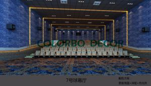 Eco-Friendly Polyester Fiber Acoustic Panels pictures & photos
