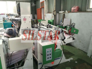 Automatic Puching Double Lines T-Shirt Bag Making Machine pictures & photos