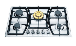 Hotel Gas Cooker Competitive Price Gas Stove Jzs75001A pictures & photos