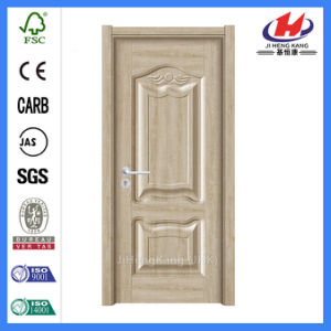 Smooth Moulded Wood Melamine Door (JHK-MD08) pictures & photos