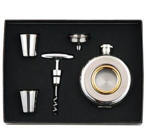 Whisky Flask Sets, Stainless Steel Hip Flask (R-HF049) pictures & photos