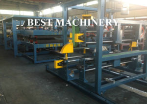 Light Weight High Productive EPS Sandwich Panel Forming Line pictures & photos