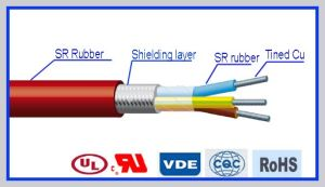 Heat Resistant Silicone Rubber Insulated Power Cable pictures & photos