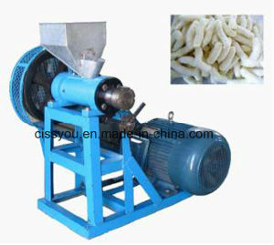 China Snack Food Extruder Corn Puffed Rice Making Extruder Machine pictures & photos