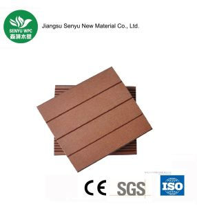 Factory Price Solid Rotproof WPC Decking pictures & photos