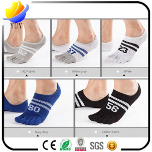 Customized Number Design Five Toe Socks Casual Socks pictures & photos