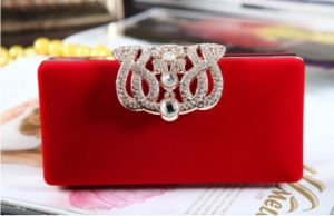 Diamond Gold Clutches Lady Evening Bags pictures & photos