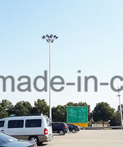 Highmast Lighting Pole High Mast Galvanized Steel Column pictures & photos