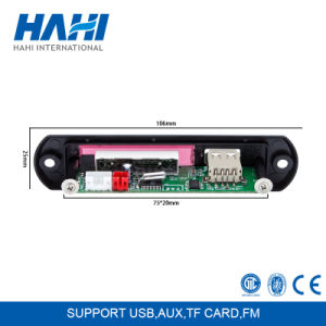 5V/12V Audio MP3 Decoder Board with TF Card pictures & photos