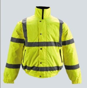 Safety Clothes for Working with High Visibility Reflective pictures & photos