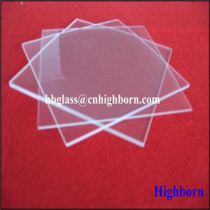 Heat Resistance Clear Thin Fused Quartz Glass Piece pictures & photos