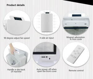 K180 Air Purifier with UVC Function Air Quality Sensor pictures & photos