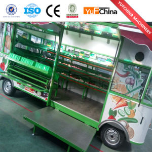 Economical and Practical Mobile Food Vegetables Cart for Sale pictures & photos