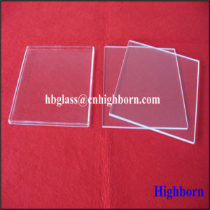High Purity Clear Thin Silica Quartz Glass Sheet pictures & photos