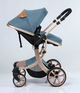 New Design European Luxury Fold Baby Carriage with Ce pictures & photos