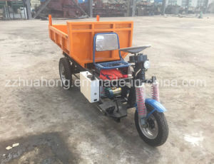 Electric Mining Dumper Tricycle, Three Wheels Tricycle, 1 Ton Electric Tipper Truck pictures & photos