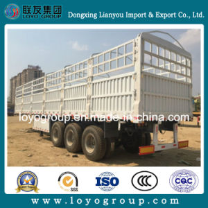40FT Transportation Truck for Agricultural Stake Semi Trailer pictures & photos