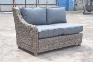 Patio Outdoor Garden Furniture Magic Wicker Rattan Alum Sofa (J649KD) pictures & photos