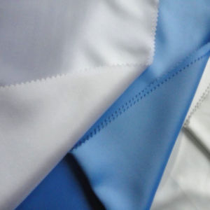 High Quality Factory Wholesale Hotel/Hospital Fabric 100% Cotton White Satin Fabric (WSF2016001)