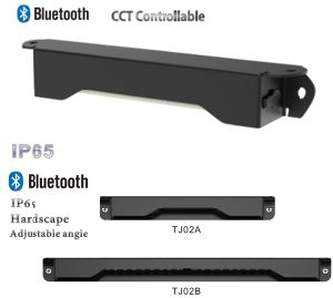 Bluetooth Dimming&CCT/Angle Adjusted/Waterproof Integrated Step Light pictures & photos