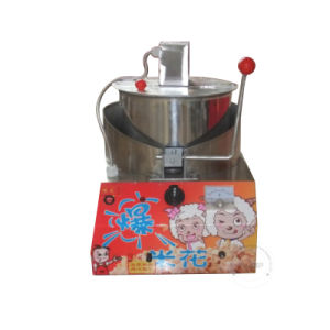 Desk Commercial Gas Candy Floss Machine with Popcorn Machine Gc-22 pictures & photos