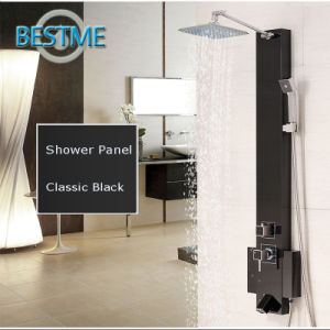 Black Color Stainless Steel Rain Shower Panel (BF-W016) pictures & photos