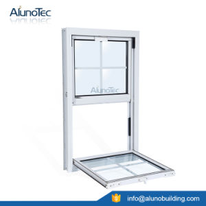 Aluminium Vertical Sliding Window pictures & photos