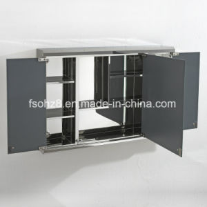 Modern Stainless Steel Furniture Bathroom Accessories Mirror Cabinet (7005) pictures & photos