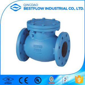 Pn10 Flange End Swing Check Valve with Good Quality pictures & photos