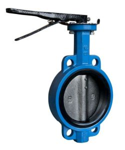 Double Flange Double Eccentric Soft Seal Butterfly Valve pictures & photos