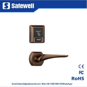Elegant Red Bronze RF57 Hotel Door Lock with Separate Body pictures & photos