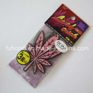 Popular Hanging Car Paper Air Freshener with Good Perfume pictures & photos